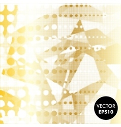 Abstract Gold Background Dotted vector
