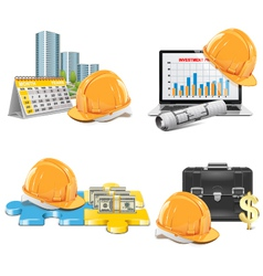 Construction Investment Concept vector image