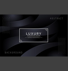 dynamic 3d abstract overlap background vector image