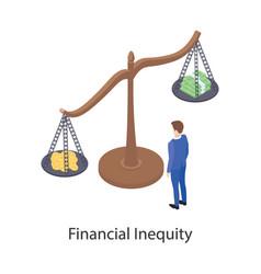 Financial imbalance vector