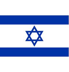 flag israel background vector image
