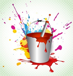 Holi background vector