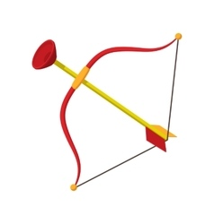 Kite cartoon icon vector image vector image