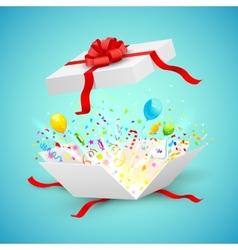 Celebration Surprise Gift vector image