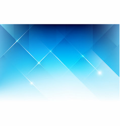 Abstract blue background with basic geometry vector