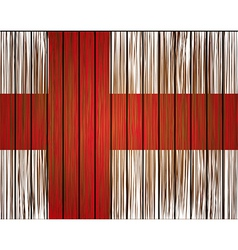 grunge england flag Eps10 vector image