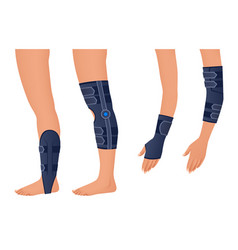 Injury shoulder arm leg back osteoporosis vector