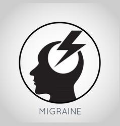 Migraine logo vector