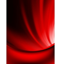 Red curtain fade to dark card EPS 10 vector
