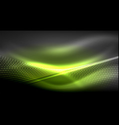 smooth light effect straight lines on glowing vector image