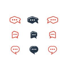 talk logotype vector image