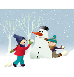 Winter snow games vector