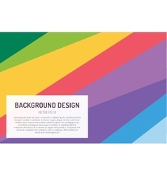 Abstract line triangle background design vector image vector image