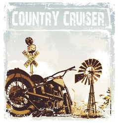 country cruiser vector image vector image
