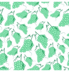 grapes wine fruit summer seamless pattern eps10 vector image