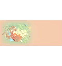 colorful daub background vector image vector image