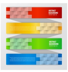 abstract background Label color vector image