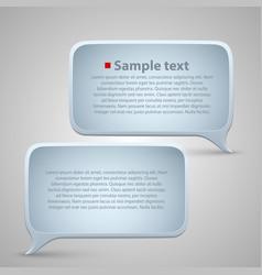 Chat window vector