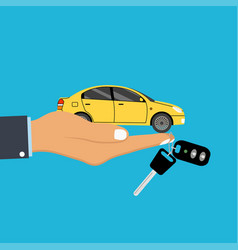 concept for automobile agent vector image