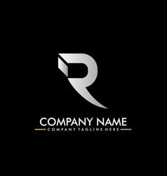 Luxury company logo logotype letterhead b vector