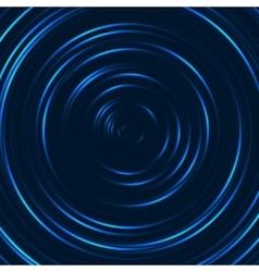 Spiral concentric lines circular rotating vector