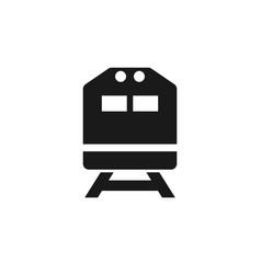 train icon graphic design template vector image