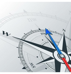 Compass northwest vector