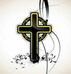 cross vector image