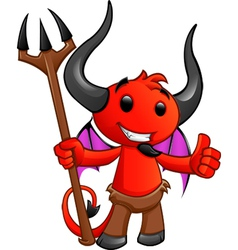 Devil Character 2 vector image vector image