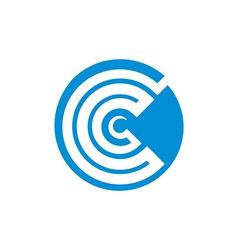 Abstract icon symbol vector image vector image