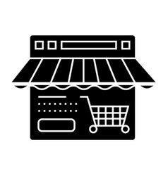 online shop icon sign o vector image vector image