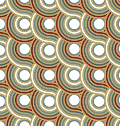 Circle spiral pattern background vector