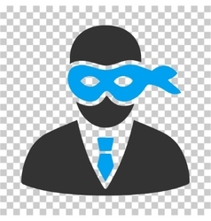 Masked Thief Icon vector