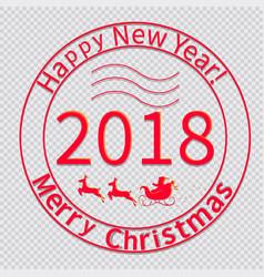 print for christmas envelopes-02 vector image
