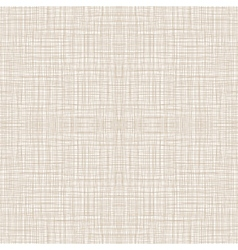 Seamless Natural Linen Pattern vector image
