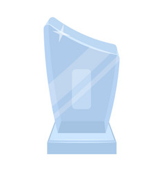 shiny grey awardthe prize for the best vector image