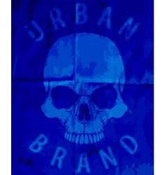 t-shirt graphics skull print skull evil skull vector image