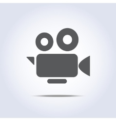 Video camera icon camcorder symbol vector