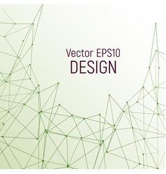geometric design vector image vector image