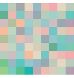 abstract squares pastel background template vector image