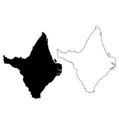 Amapa map vector