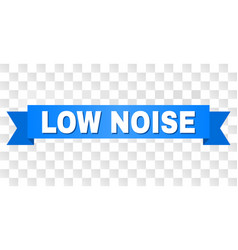 Blue stripe with low noise caption vector