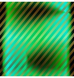 Green background with stripe pattern vector