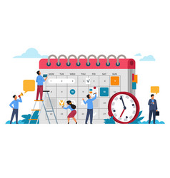 people planning concept entrepreneurship and vector image