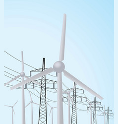Windmill and transmission vector