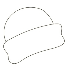 Beanie   Outline Vector Images (over 150) b327f275c85