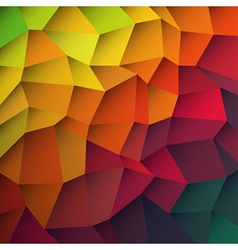 abstract colorful patches background vector image vector image