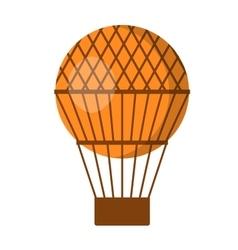 Ballon aerostat transport vector image