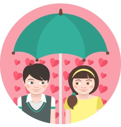 First Love vector image