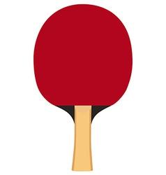 Ping pong paddle vector image vector image